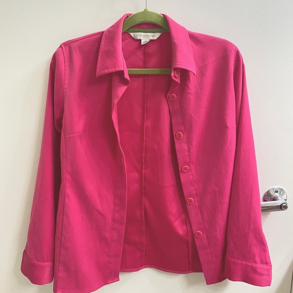 Harry Styles Hot Pink Button Down